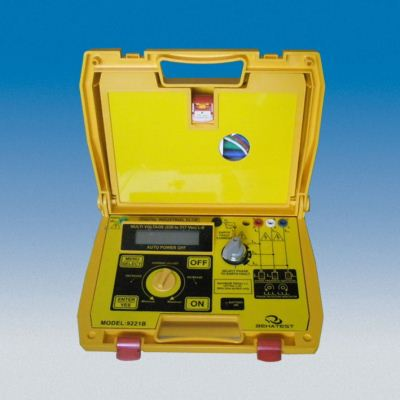 9221B 3 Phases Industrial Earth Leakage Tester